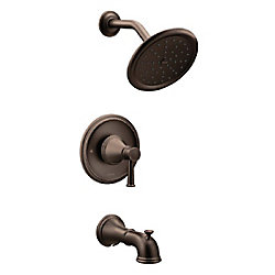 Belfield Single-Handle Posi-Temp Tub and Shower Faucet Trim Kit in Oil Rubbed Bronze (Valve Sold Separately)