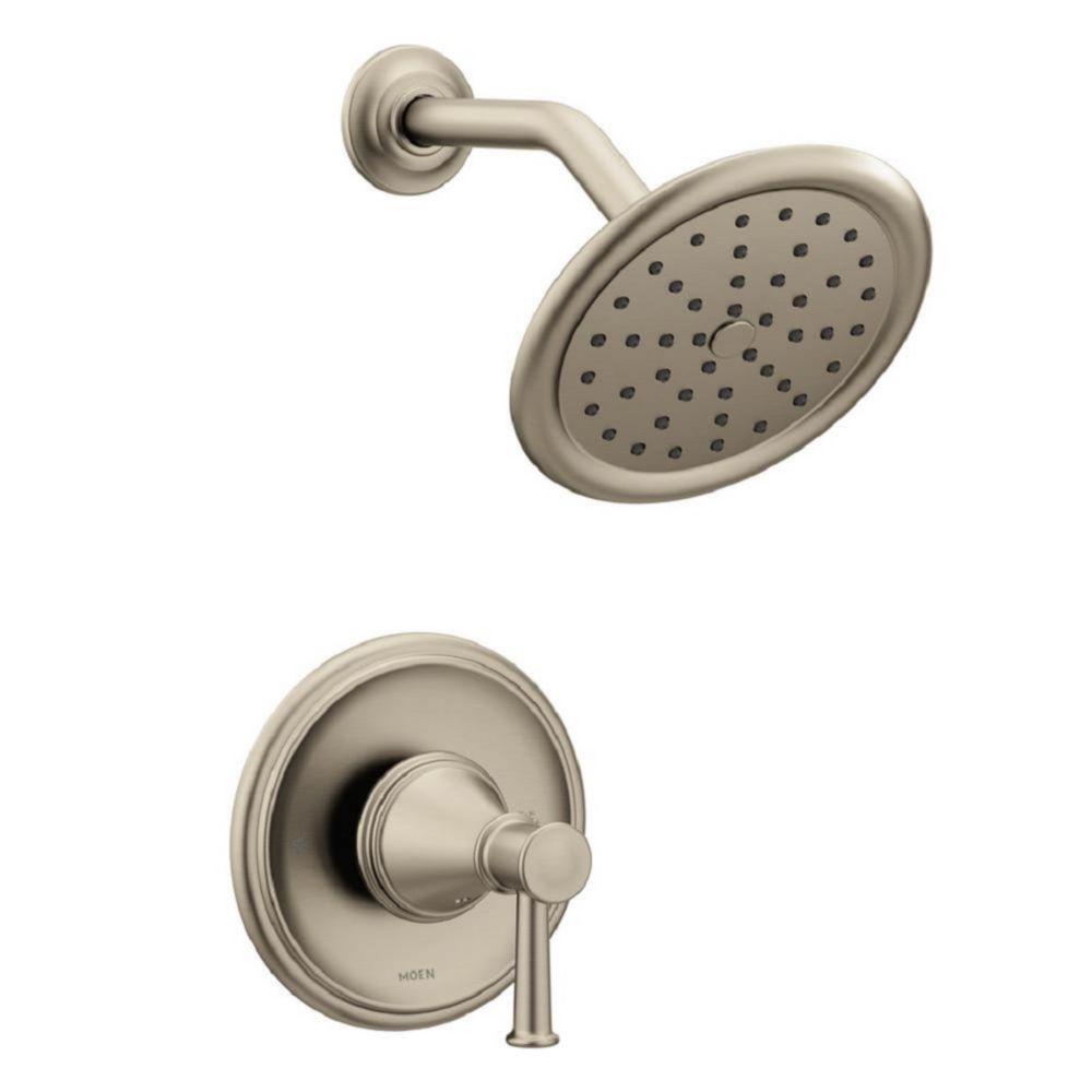 Moen Belfield Posi-Temp Tub/Shower in Brushed Nickel (Valve Sold Separately)