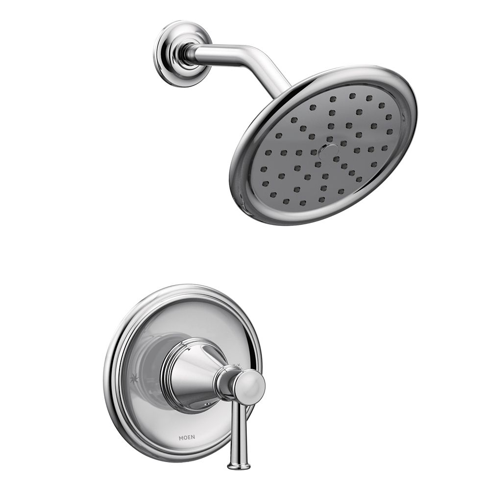 Moen Belfield Posi-Temp Tub/Shower in Chrome (Valve Sold Separately)