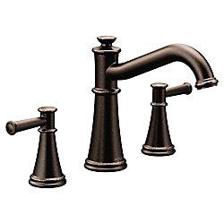 MOEN Belfield Two-Handle Non Diverter Roman Tub Faucet in Oil Rubbed Bronze (Valve Sold Separately)