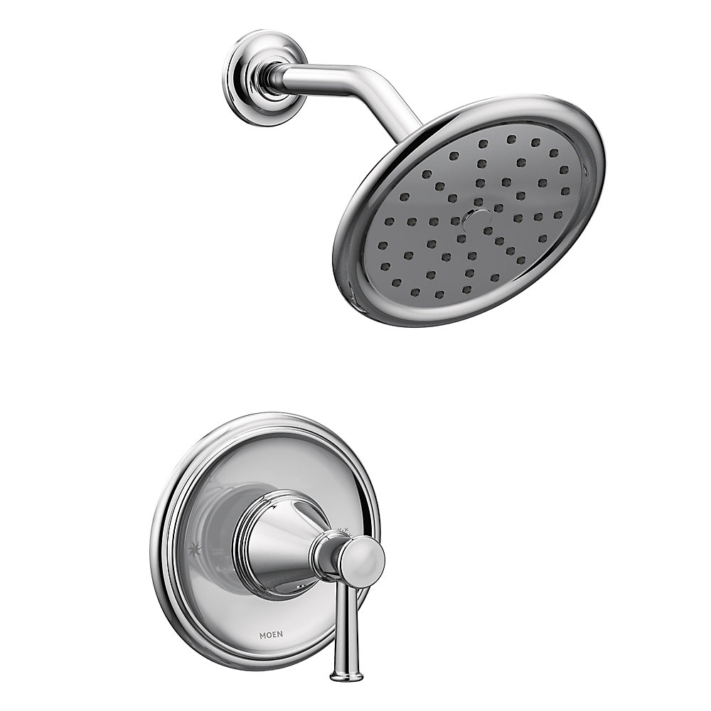 Belfield Posi-Temp Shower Only in Chrome (Valve Sold Separately)