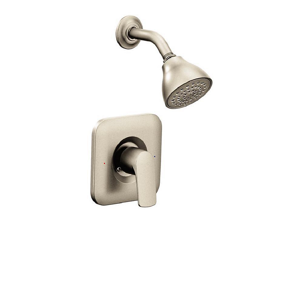 Rizon 1 Handle Posi Temp Shower Faucet Trim Kit In Brushed