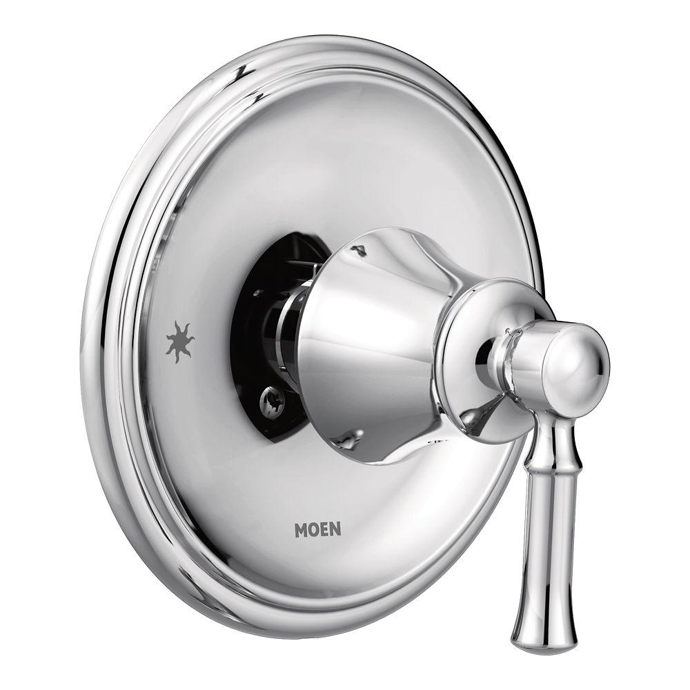 Moen Dartmoor Posi-Temp 1-Handle Shower Only Faucet Trim Kit In Chrome (Valve Sold Separately)