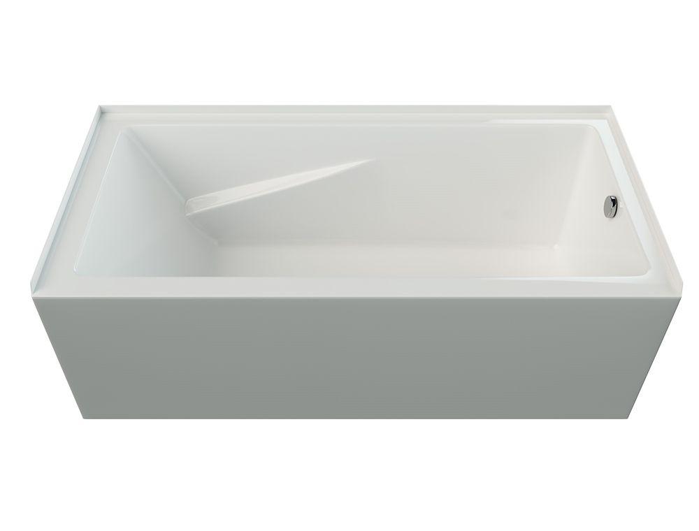 Mirolin White Phoenix 2 Skirted Bath Right Hand | The Home Depot Canada
