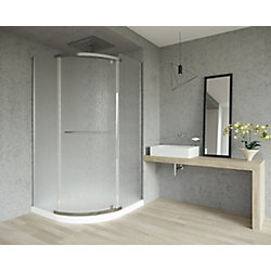 Mirolin Sorrento 42 Round Front Package- Raindrop