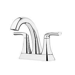 Pfister Ladera Centreset 2-Handle Bathroom Faucet in Polished Chrome