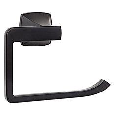 Venturi Towel Ring in Black