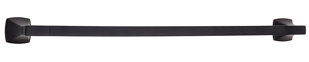 Venturi 24 inch Towel Bar in Black