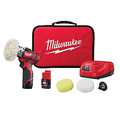 M12 12-Volt Lithium-Ion Cordless Variable Speed Polisher/Sander Kit with (2) 1.5Ah Batteries
