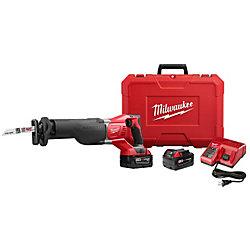 Milwaukee Tool Scie alternative SAWZALL sans fil M18 au lithium-ion, 18V; 2batteries, 3,0Ah; étui rigide