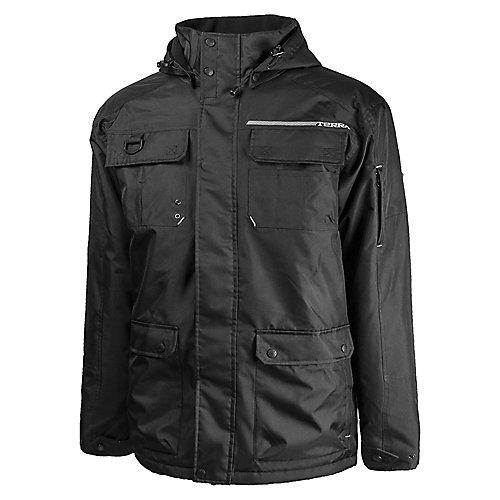 Terra Winter Jacket Poly Oxford Bolt Blk Sz M The Home Depot Canada