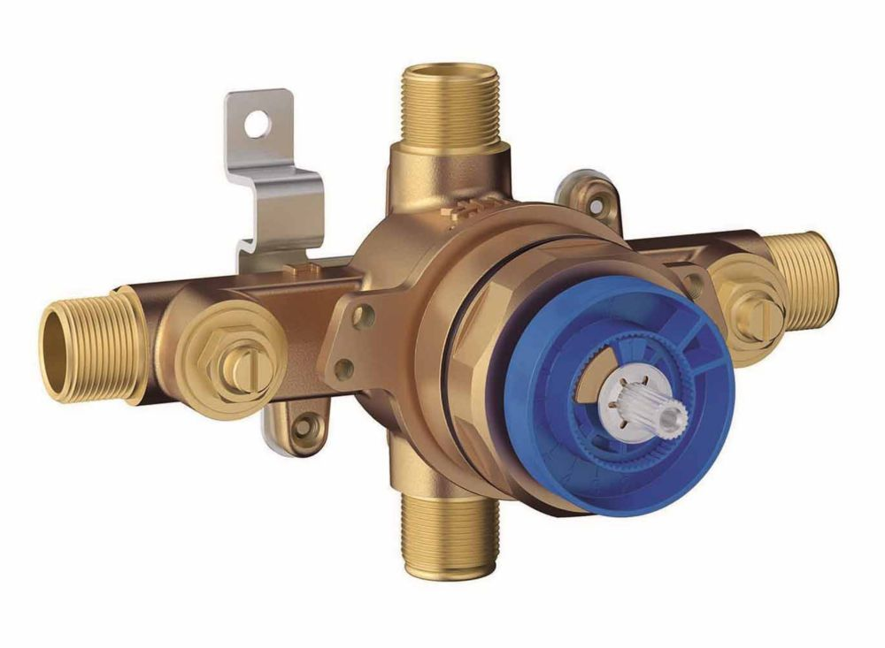 GROHE Grohsafe Universal Pressure Balance Rough-In valve.  1/2 Inlets Univeral  - 1/2 Outlets Universal