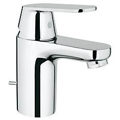 Robinet de salle de bain Eurosmart Cosmopolitan monotrou à poignée unique et arc bas