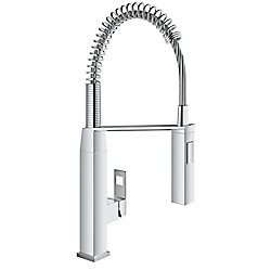 GROHE Eurocube Single-Handle Semi-Pro Kitchen Faucet