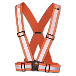 Terra Hi-Vis Traffic Harness 2 inch (Orange)