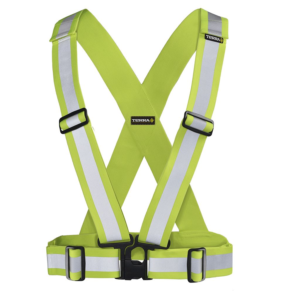Terra Hi-Vis Traffic Harness 2 inch (Yellow)