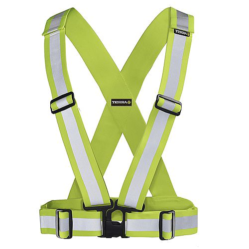 Terra Hi-Vis Traffic Harness 2 inch (Yellow)