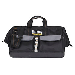 Holmes Tool Bag with Metal Handle 18 inch Opening Work Wear