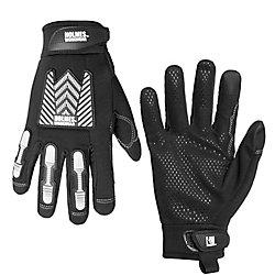 Holmes Mechanics Gloves with Reflective Print Work Wear L