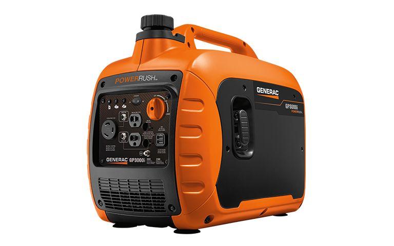 Generac GP 3000W Inverter Generator with PowerRush