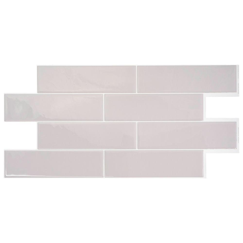 smart tiles oslo grey 2256inch w x 1088inch h grey