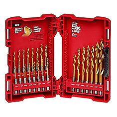 IMPACT SHOCKWAVE DEVOIR Drill Titanium Bit Set (23 pièces)