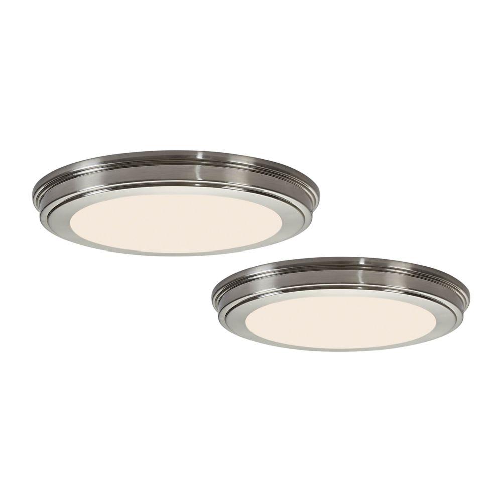 Led Shop Lights Home Depot Canada: Feit 4 Ft. 1-Light White LED Utility Shop Light