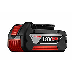 Bosch 18-Volt Lithium-Ion 6.0Ah FatPack Battery
