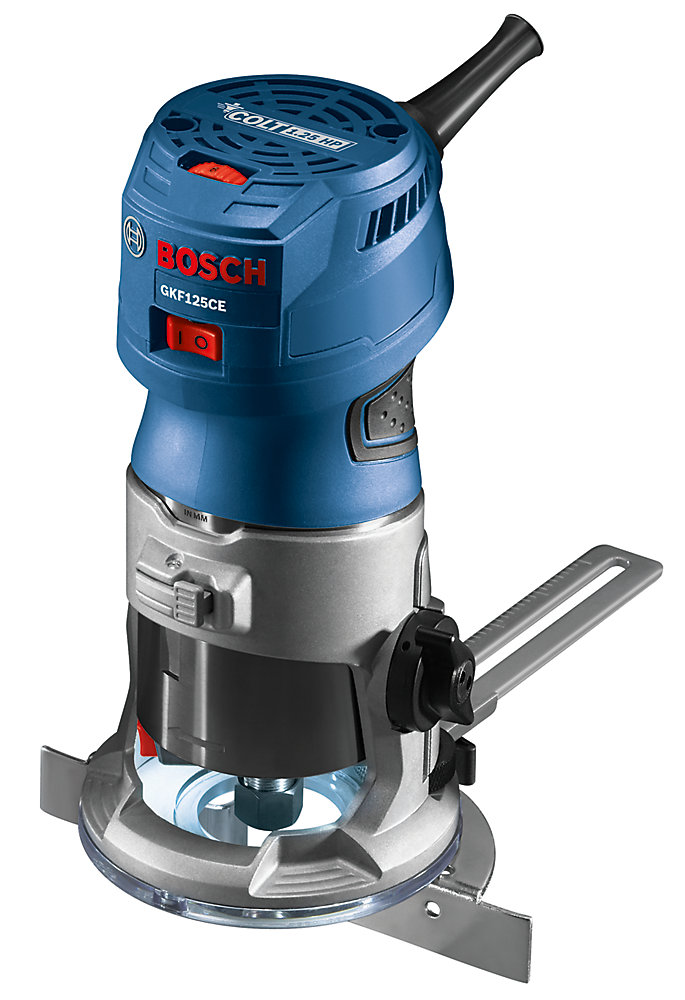 Colt 1.25 HP (Max) Variable-Speed Fixed Corded Palm Router Kit