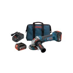 Bosch Ensemble rectifieuse angulaire 18 V de 4-1/2 po