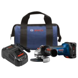 Bosch 18-Volt 4-1/2 inch Cordless Angle Grinder Kit with 6.3Ah CORE18V Lithium-Ion Battery