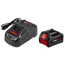 Bosch Kit de départ 18 V CORE18V avec 1 batterie CORE18V