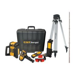 Berger 2000 ft. Self-Leveling Horizontal/Vertical Rotary Laser Level Kit (6-Piece)