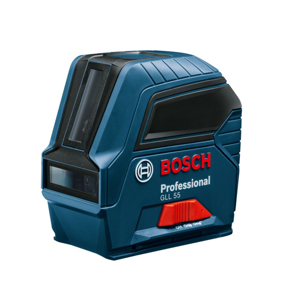 Bosch 50 ft. Self-Leveling Cross-Line Laser Level GLL55