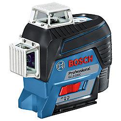 Bosch Niveau au laser à faisceau de nivellement et d'alignement connecté à 3 plans à 360°