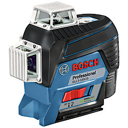 Bosch 360-Degree Connected Green-Beam Three-Plane Levelling and Alignment-Line Laser