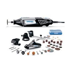 Dremel 4000 Series 1.6 Amp Corded Variable Speed Rotary Tool Kit with 38 Accessories and Hard Carrying Case