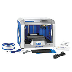 3D40 Idea Builder 3D Printer with Built-In Wifi and Guided Leveling