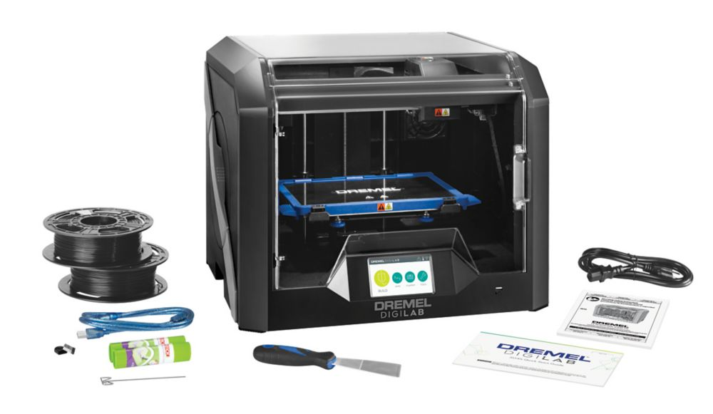 Dremel DigiLab 3D45 3D Printer with Built-In Wifi and Guided Leveling
