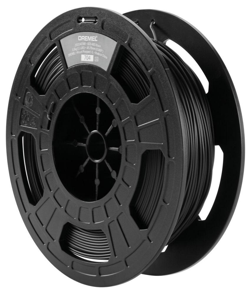 Dremel Black ECO-ABS 3D Printer Filament