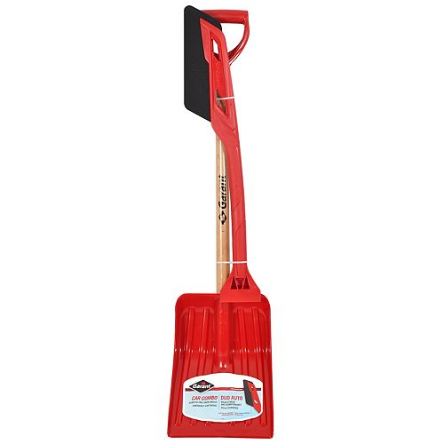 Garant Combo, snow shovel 9 1/8 inch py blade and snow brush