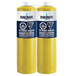 Bernzomatic 14.1 oz. Map-Pro Cylinder 2pk
