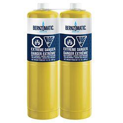 Bernzomatic Cylindre MAP-Pro, 14,1 oz, ens. de 2