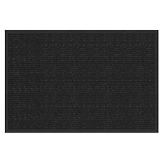 Hydrascrape Black 2 ft. x 3 ft. Doormat
