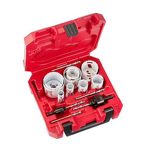 HOLE DOZER Bi-Metal Hole Saw Set (17-Piece) with Case