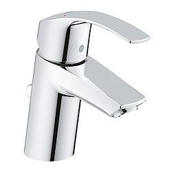 GROHE Eurosmart Single Hole Single-Handle 1.2 GPM Bathroom Faucet in StarLight Chrome