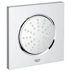 Pomme de douche fixe à installation encastrée au plafond Rainshower sérieF de 5po à mode