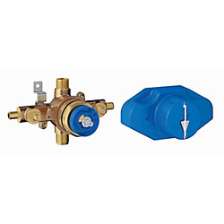 GROHE Grohsafe Universal Pressure Balance Rough-In valve.  1/2 Inlets PEX - 1/2 Outlets Universal