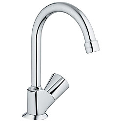 GROHE Classic II Single-Handle Pillar Tap Faucet in Starlight Chrome