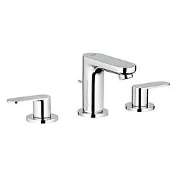 GROHE Eurosmart Cosmopolitan 8 inch Widespread 2-Handle 1.2 GPM Bathroom Faucet in StarLight Chrome